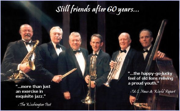 Independence Jazz Reunion band, still friends after 60 years